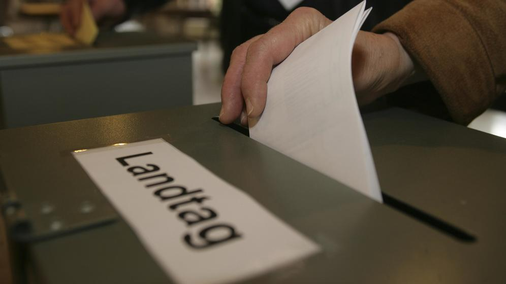 Symbolbild Landtagswahl   Bild:pa/dpa