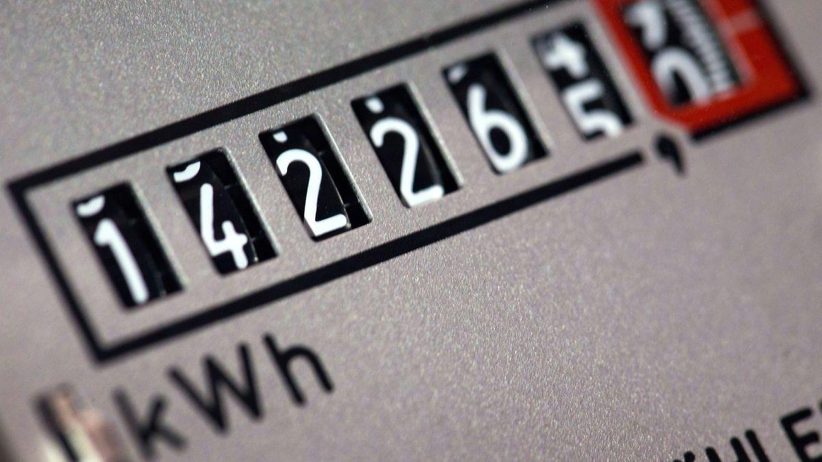 Das Zählwerk eines Stromzählers
