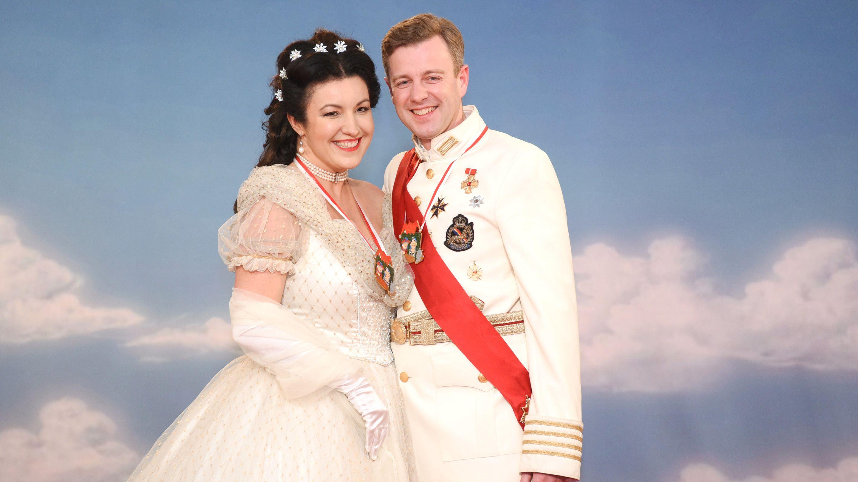 Dorothee Bär und ihr Mann Oliver.