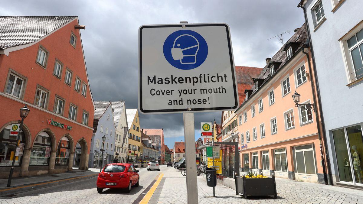 Aufnahme von Memmingen am 23. Mai 2021