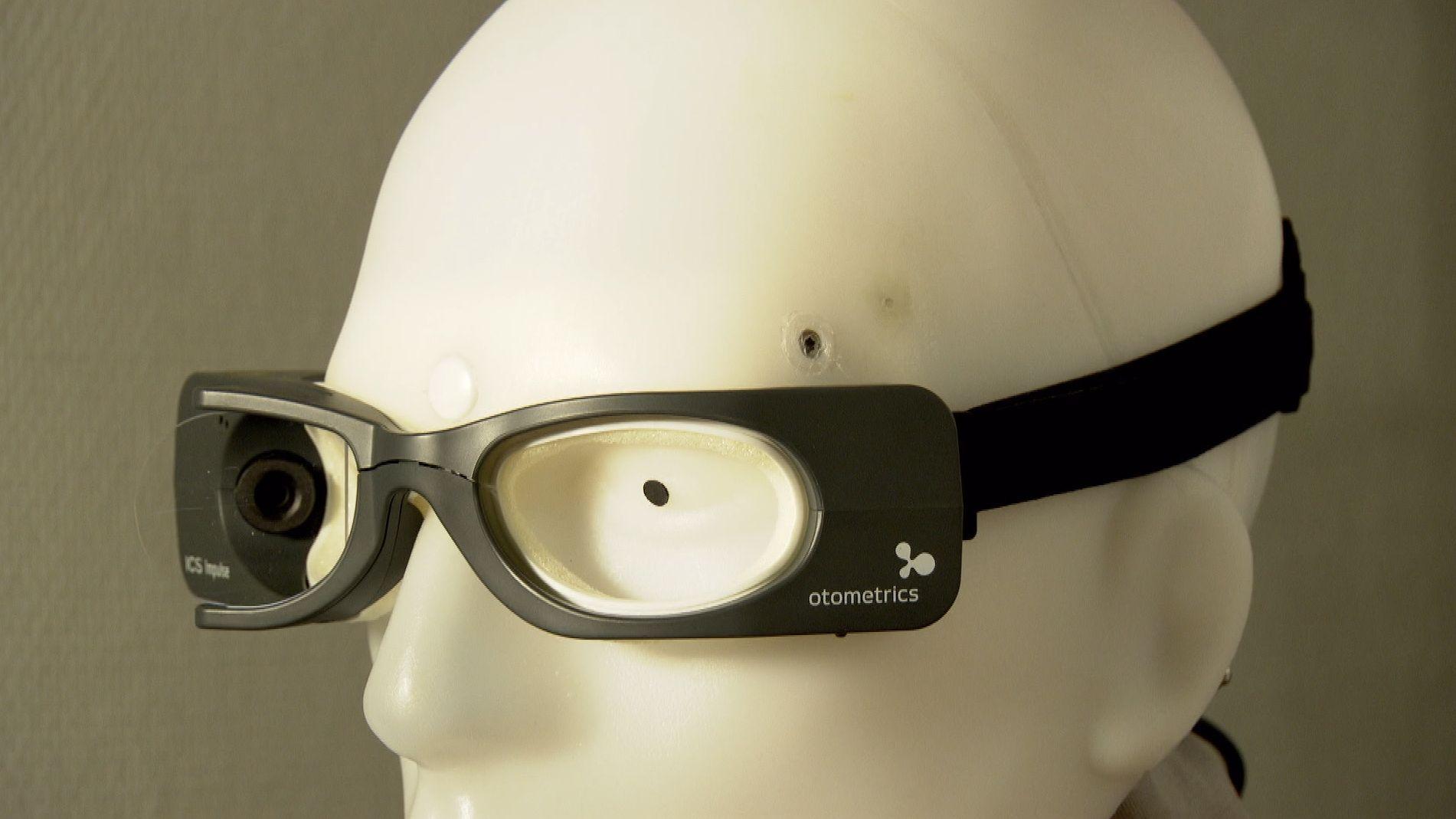 """""""Schwindelbrille"""" zur Schlaganfall-Diagnose"""