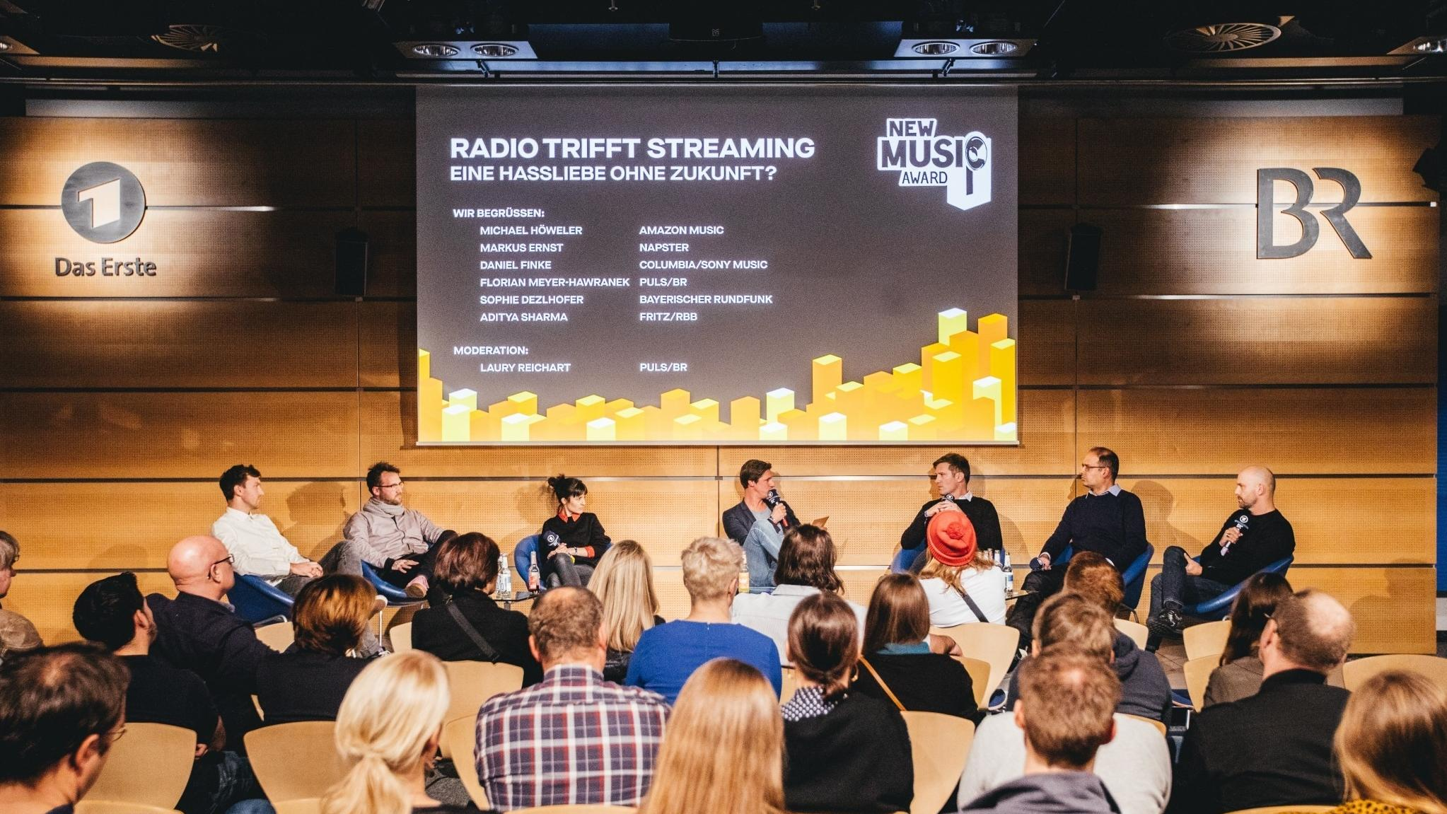 Radio trifft Streaming - Podiumsdiskussion im BR Funkhaus