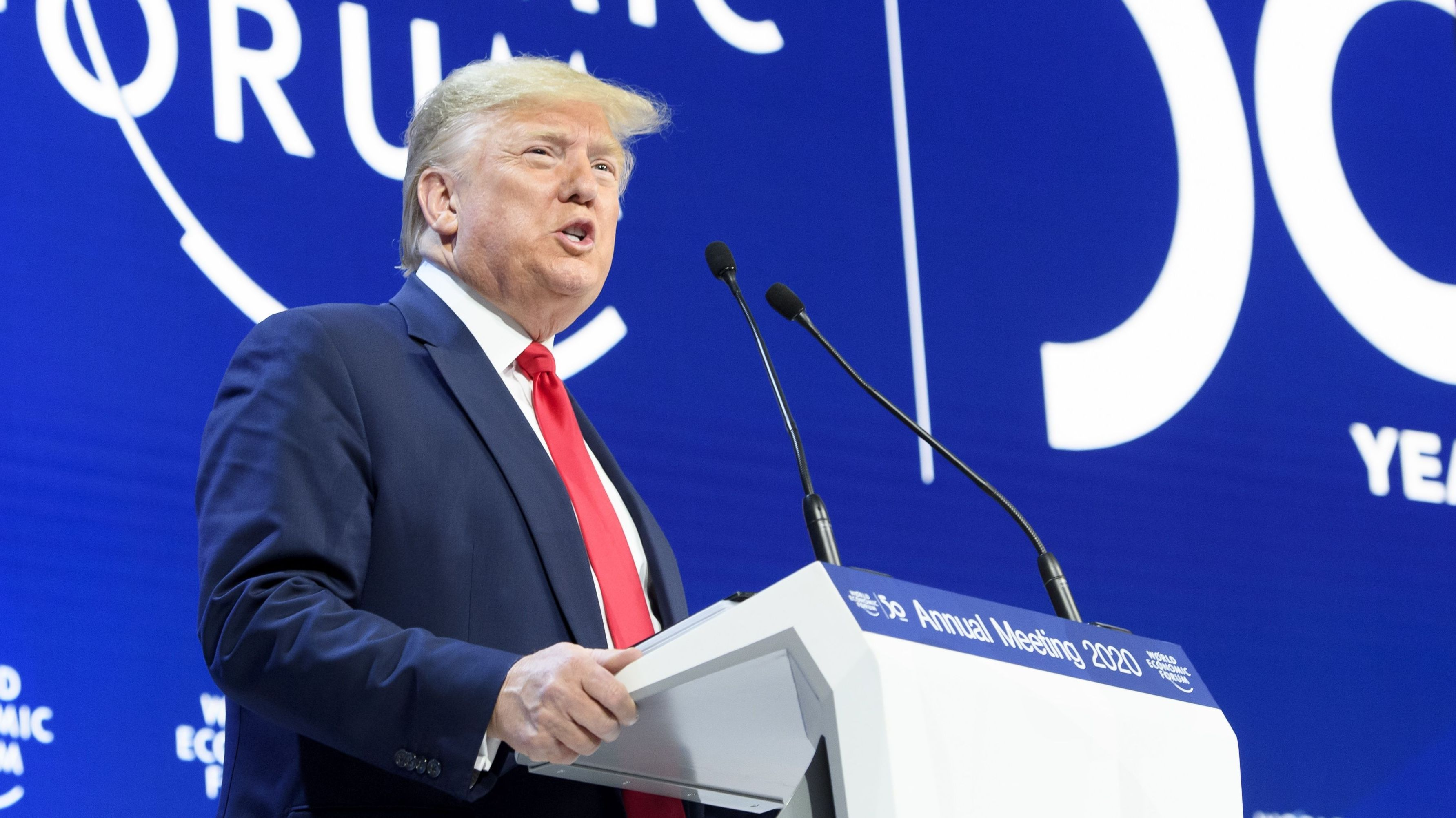 Donald Trump in Davos