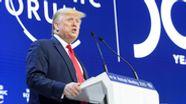 Donald Trump in Davos | Bild:pa / dpa / GIAN EHRENZELLER