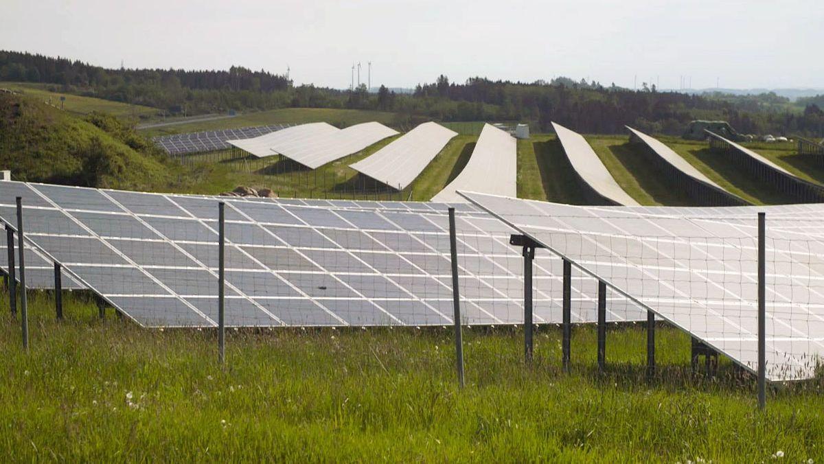Photovoltaikanlagen im Hofer Land.