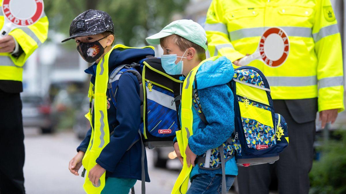 Symbolbild: Maskenpflicht für Schüler