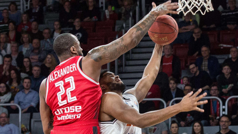Basketballer Cliff Alexander von Brose Bamberg