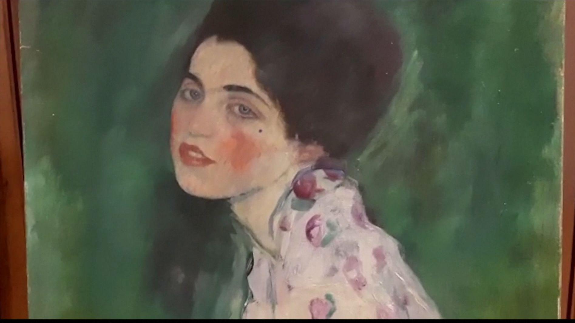 """Das Gemälde """"Porträt einer Frau"""" von Gustav Klimt"""