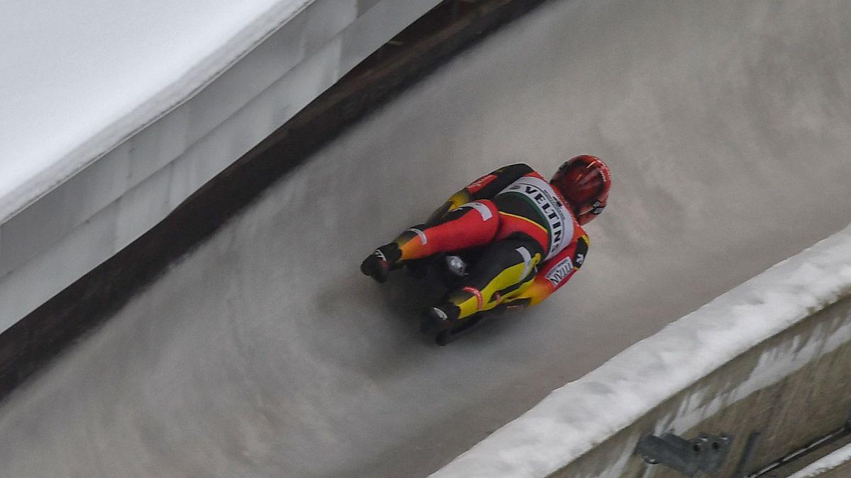 Tobias Wendl/Tobias Arlt in Winterberg (Archivbild)