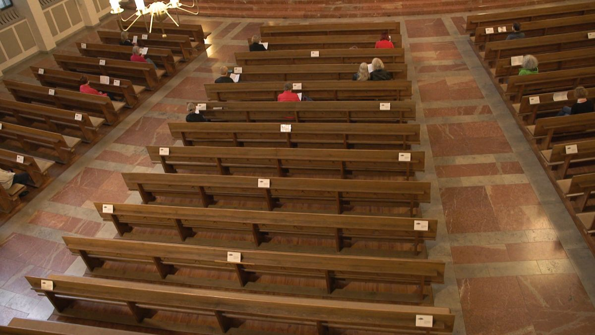 Ein Kirchensaal