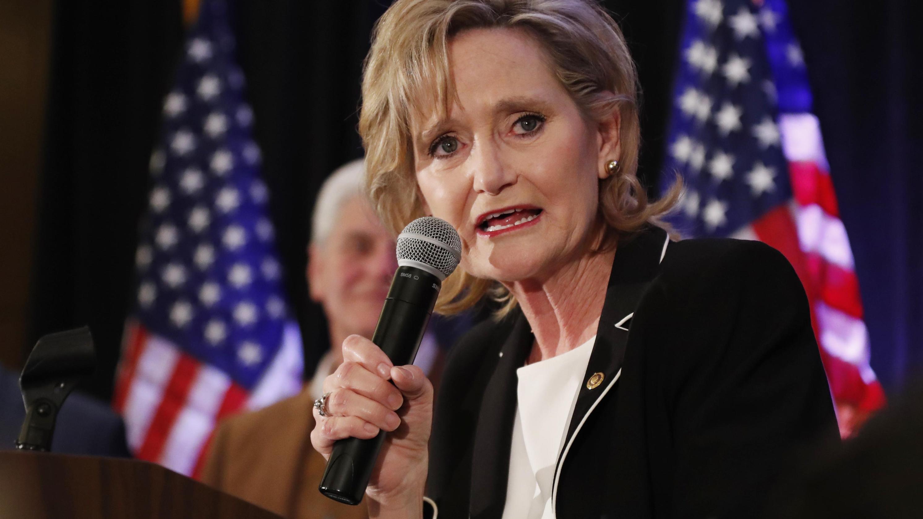 Die republikanische US-Senatorin Cindy Hyde-Smith