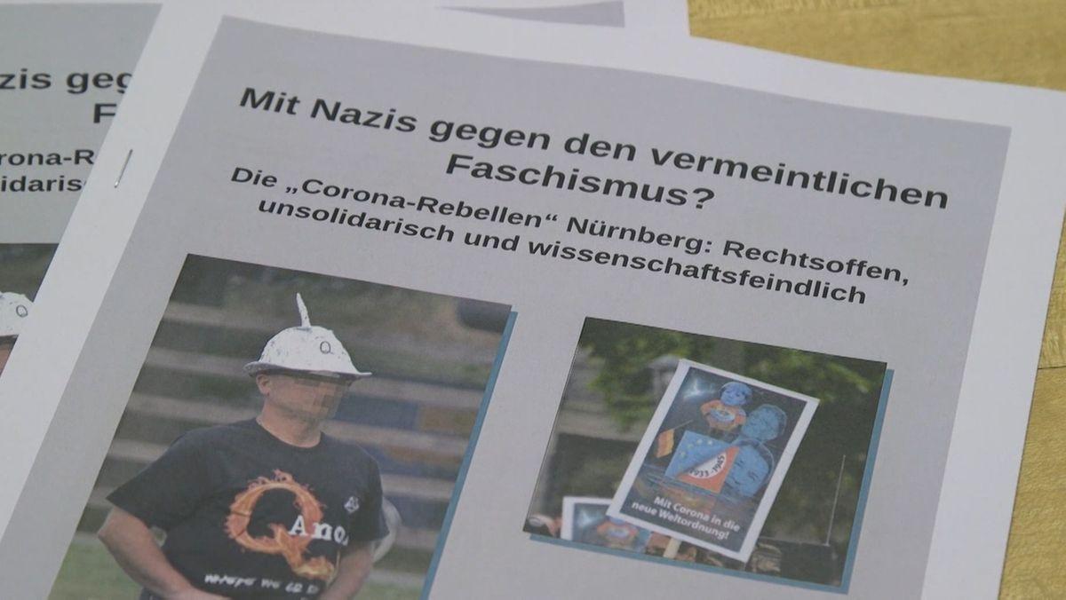 """Nürnberger Bündnis Nazistopp: """"Corona-Rebellen"""" sind rechtsoffen"""