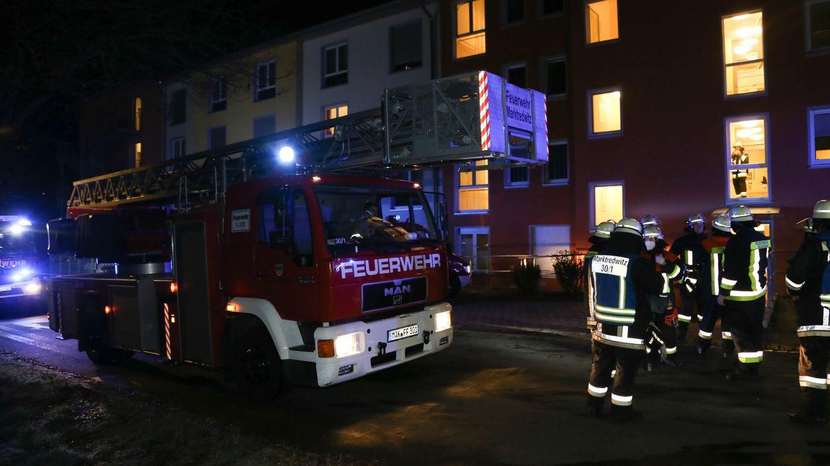 Feuerwehreinsatz in einem Seniorenheim in Waldershof