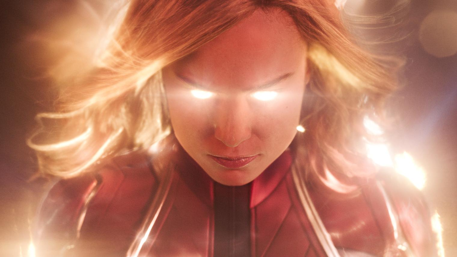Captain Marvel in Action!