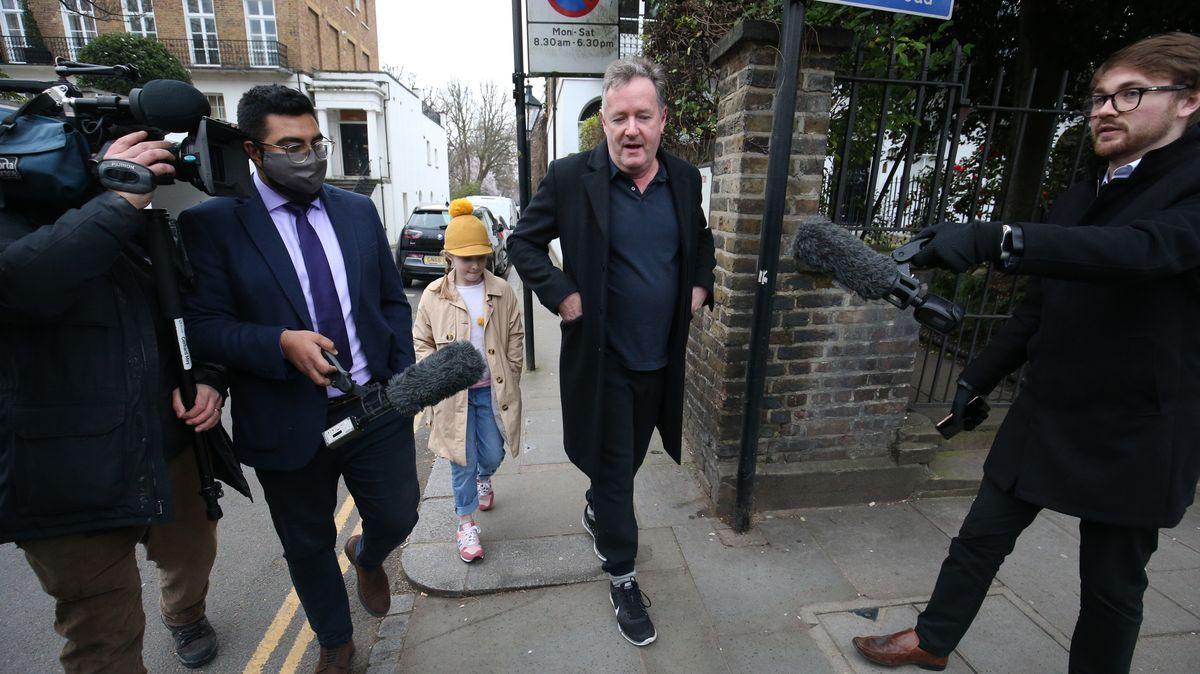 Journalisten sind Piers Morgan stets auf der Spur