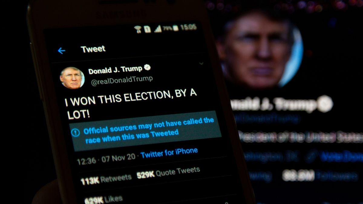 Twitter-Feed von Donald Trump