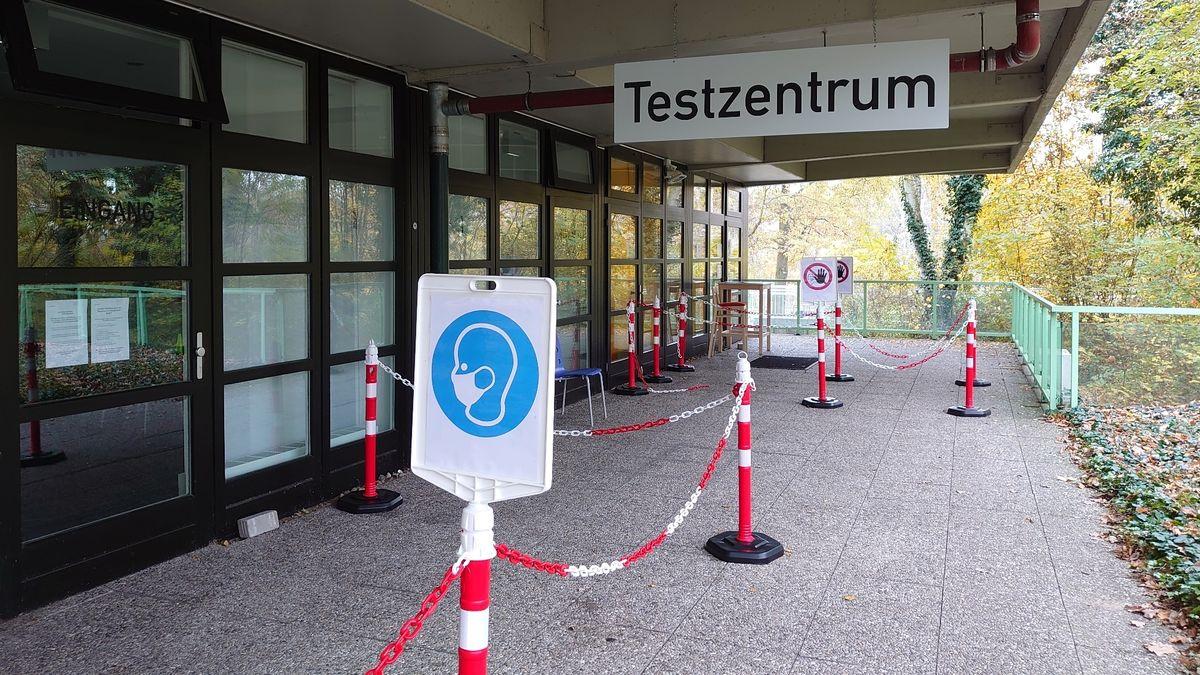 Testzentrum am Nürnberger Pflegezentrum Sebastianspital