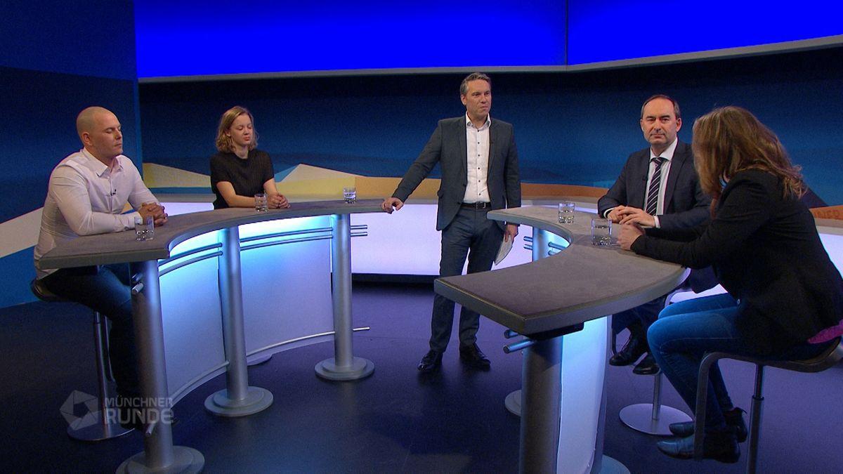 Münchner Runde live: Fridays for Future vs. Fridays for Hubraum