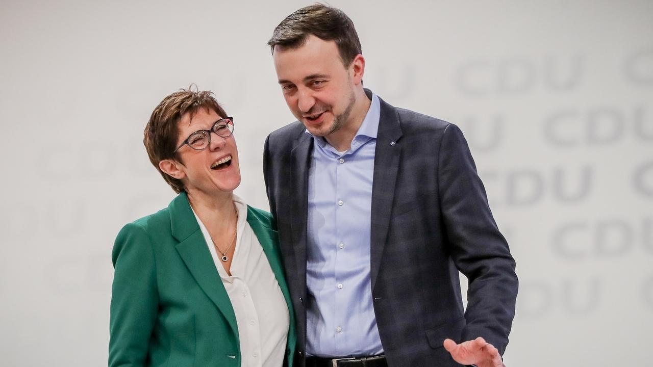 Kramp-Karrenbauer und Ziemiak