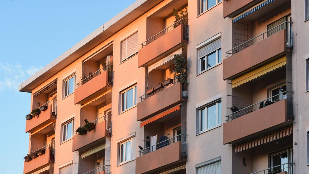 Sozialwohnungen | Bild:pa/dpa/Winfried Rothermel