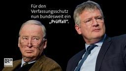 Gauland und Meuthen   Bild:BR