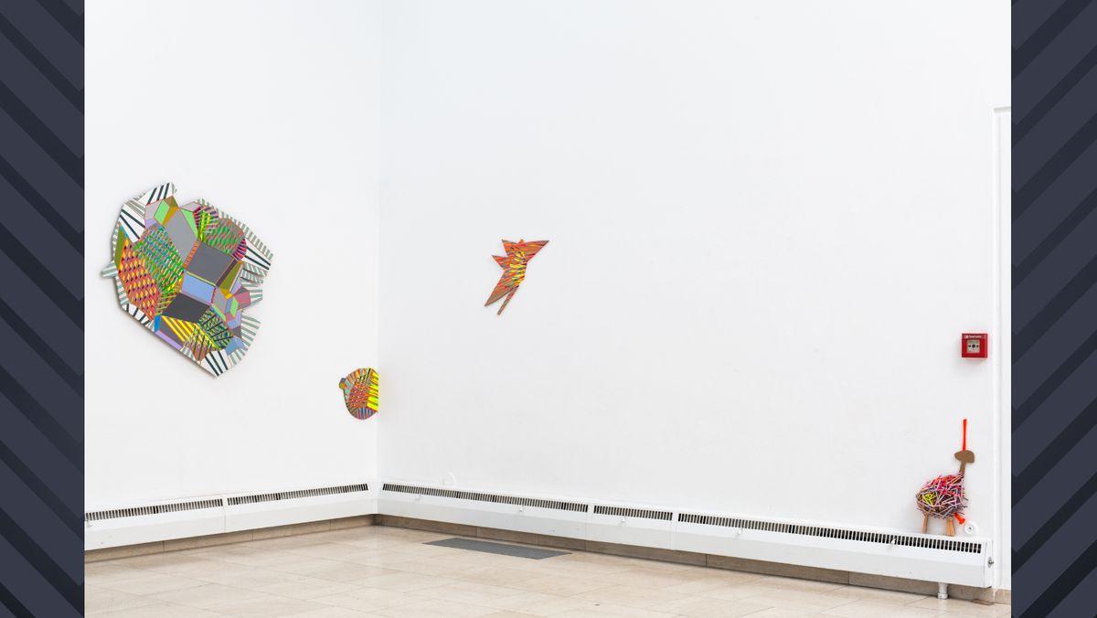 Ausstellungsansicht: Carolina Kreusch in der Städtischen Galerie Rosenheim (2019)