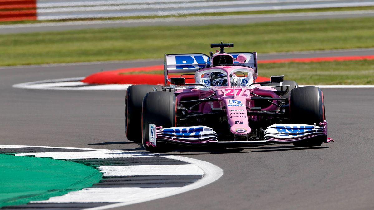 Nico Hülkenberg in Silverstone