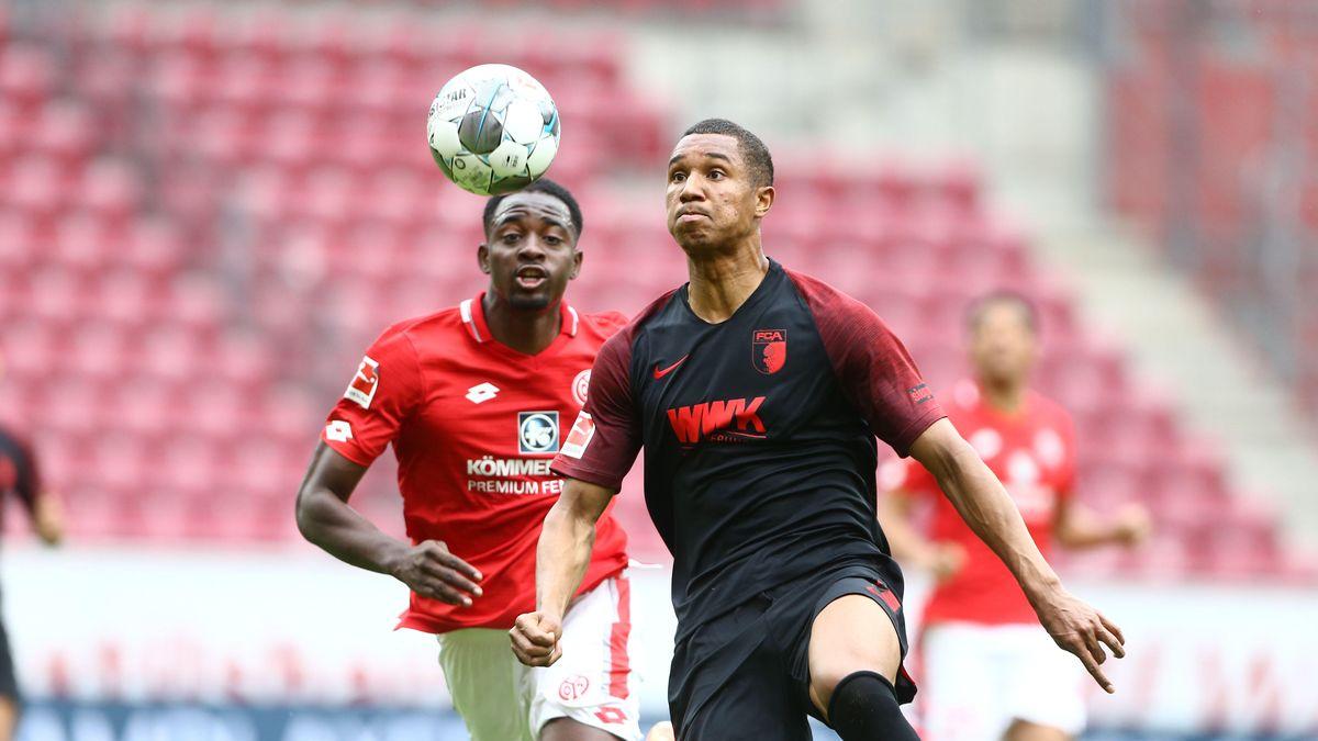 Spielszene 1. FSV Mainz 05 - FC Augsburg