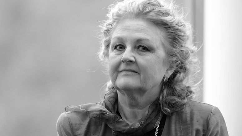 Porträt der Sopranistin   Bild:Uli Deck/dpa-Bildfunk