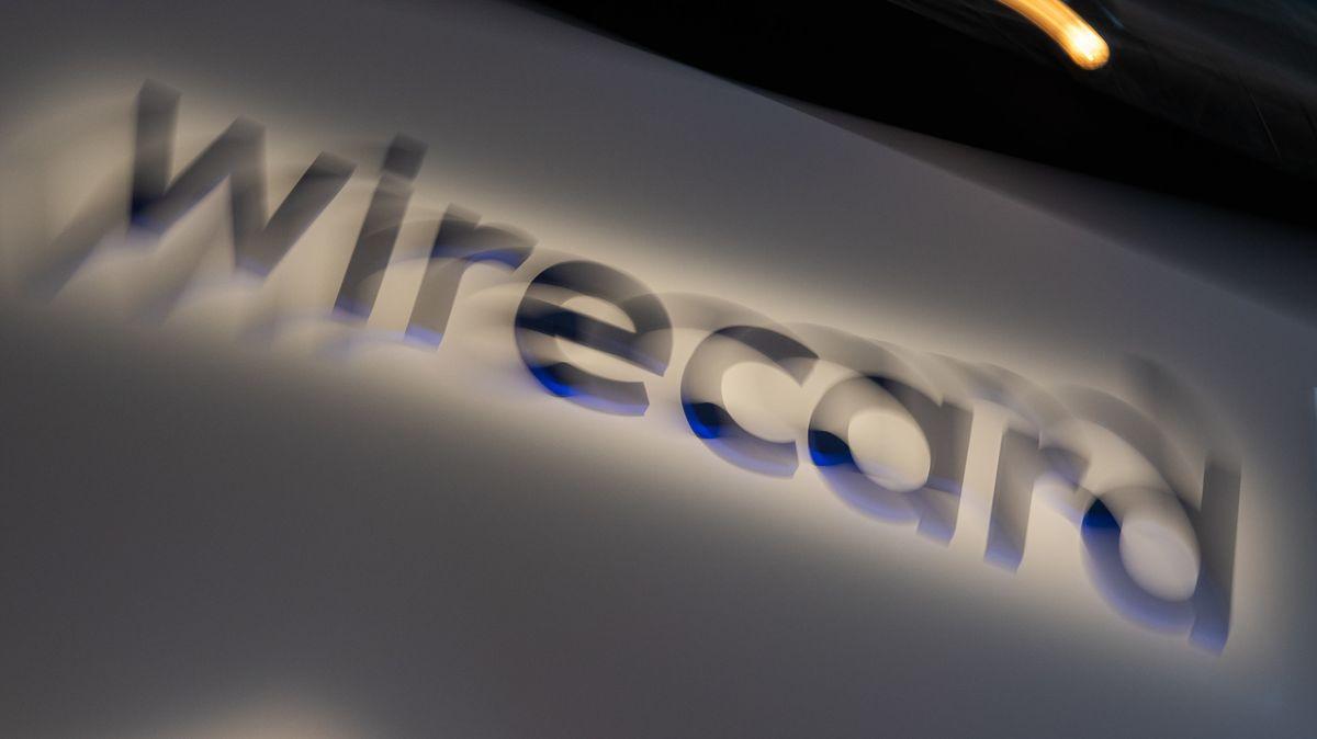 Der verwackelte Schriftzug Wirecard
