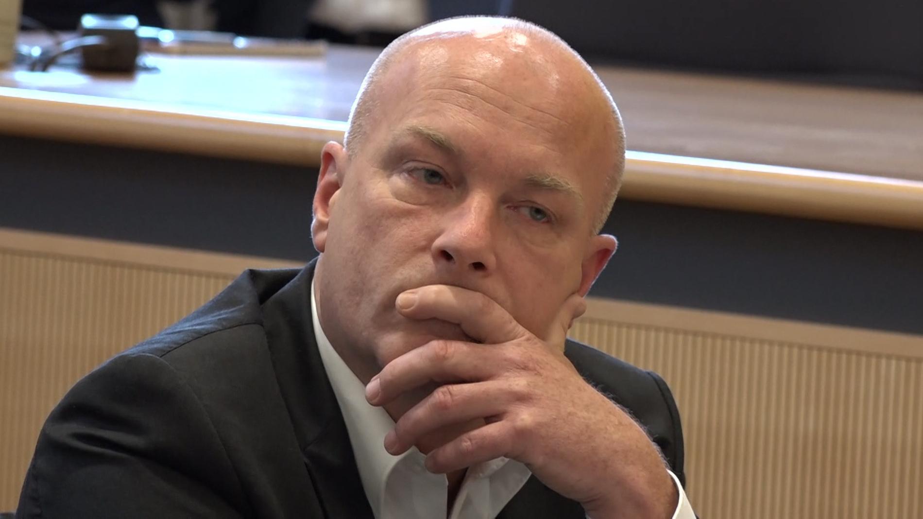 Der suspendierte Oberbürgermeister Joachim Wolbergs