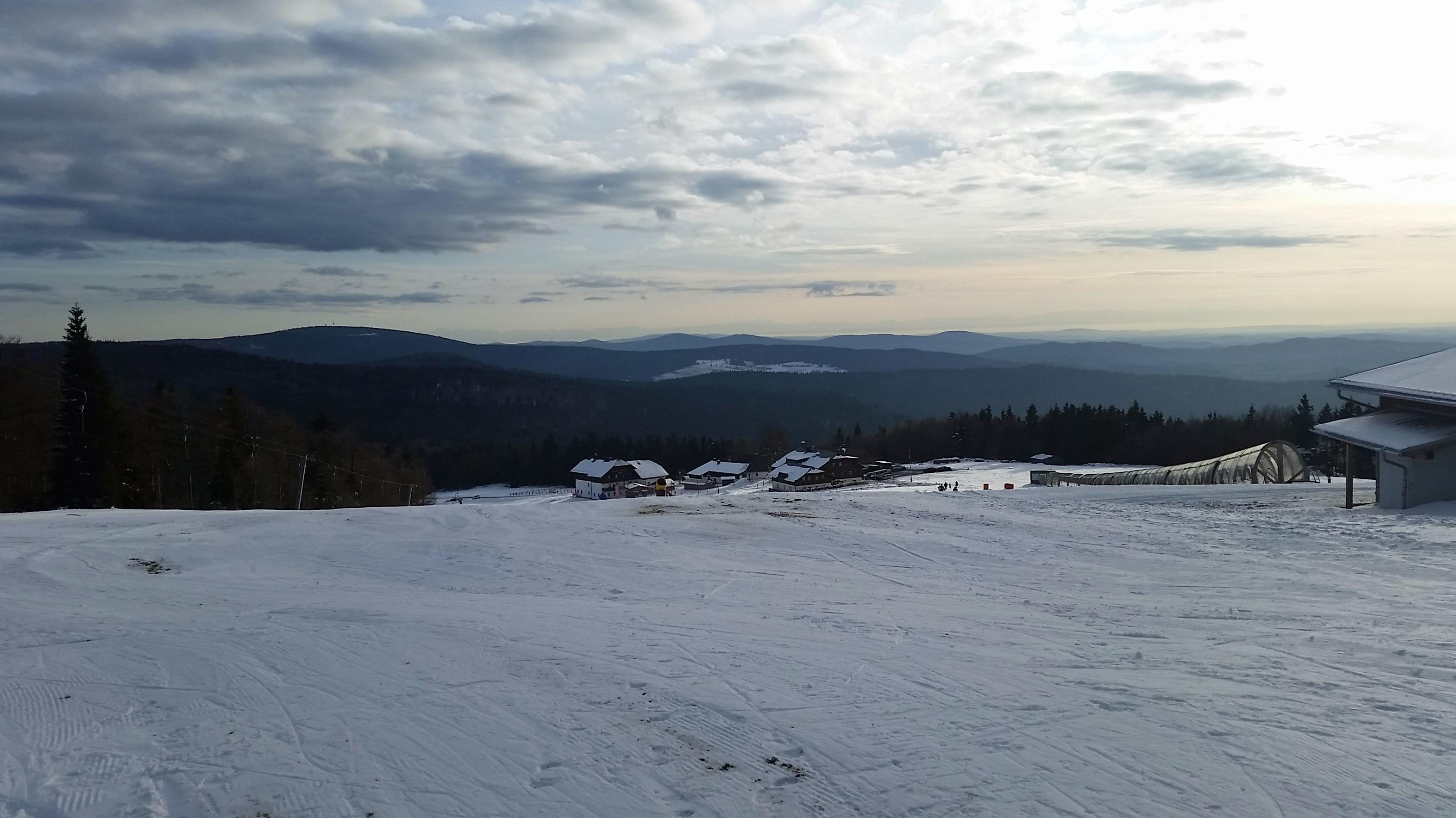 Skigebiet Mitterfirmiansreut im Winter