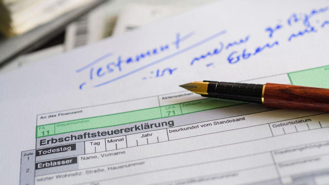 Erbschaftssteuererklärung