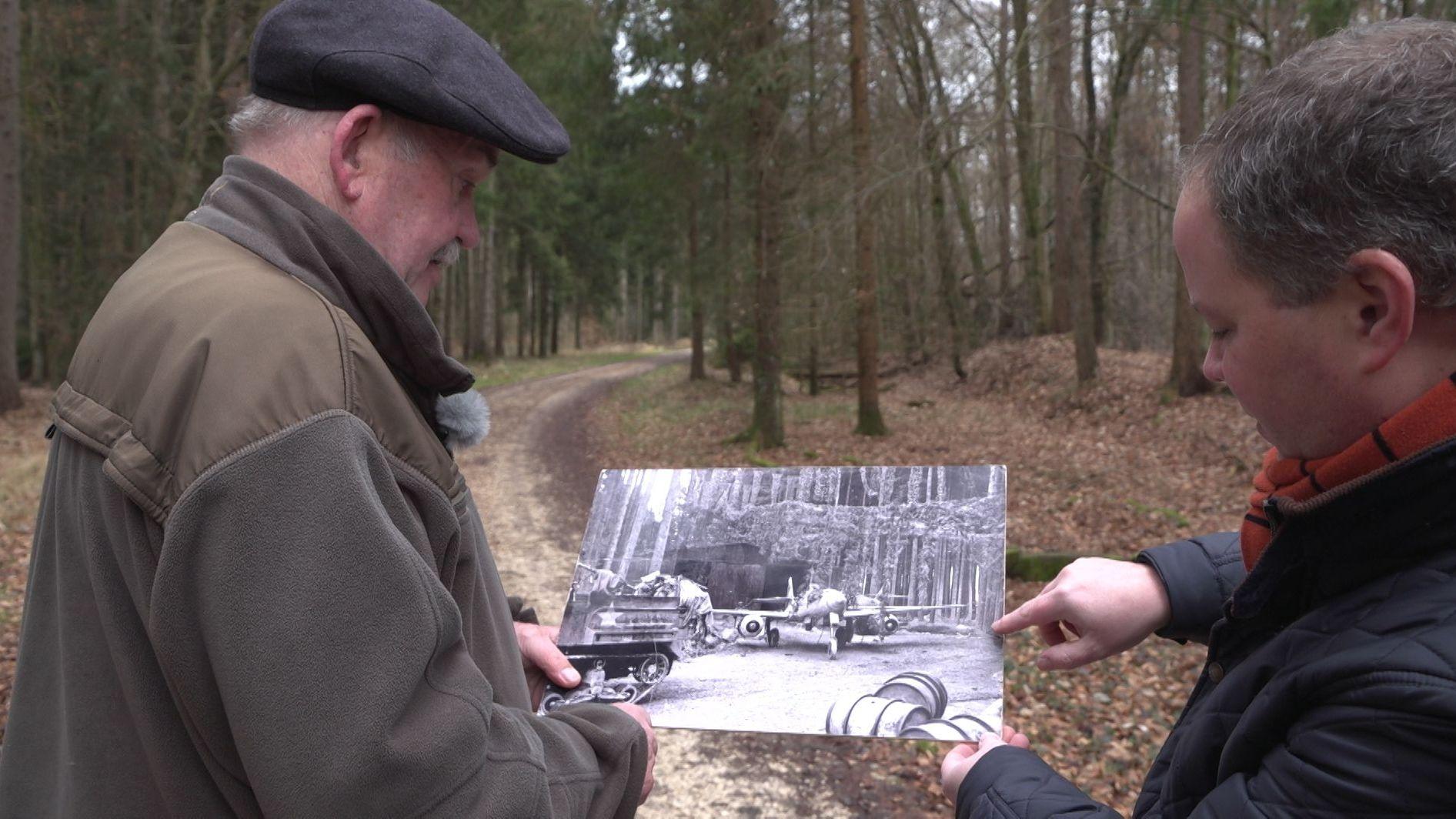 Das geheime Waldwerk der Nazis und das KZ Burgau