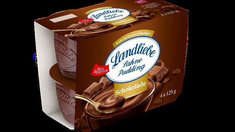 Landliebe Sahne Pudding, Schokolade