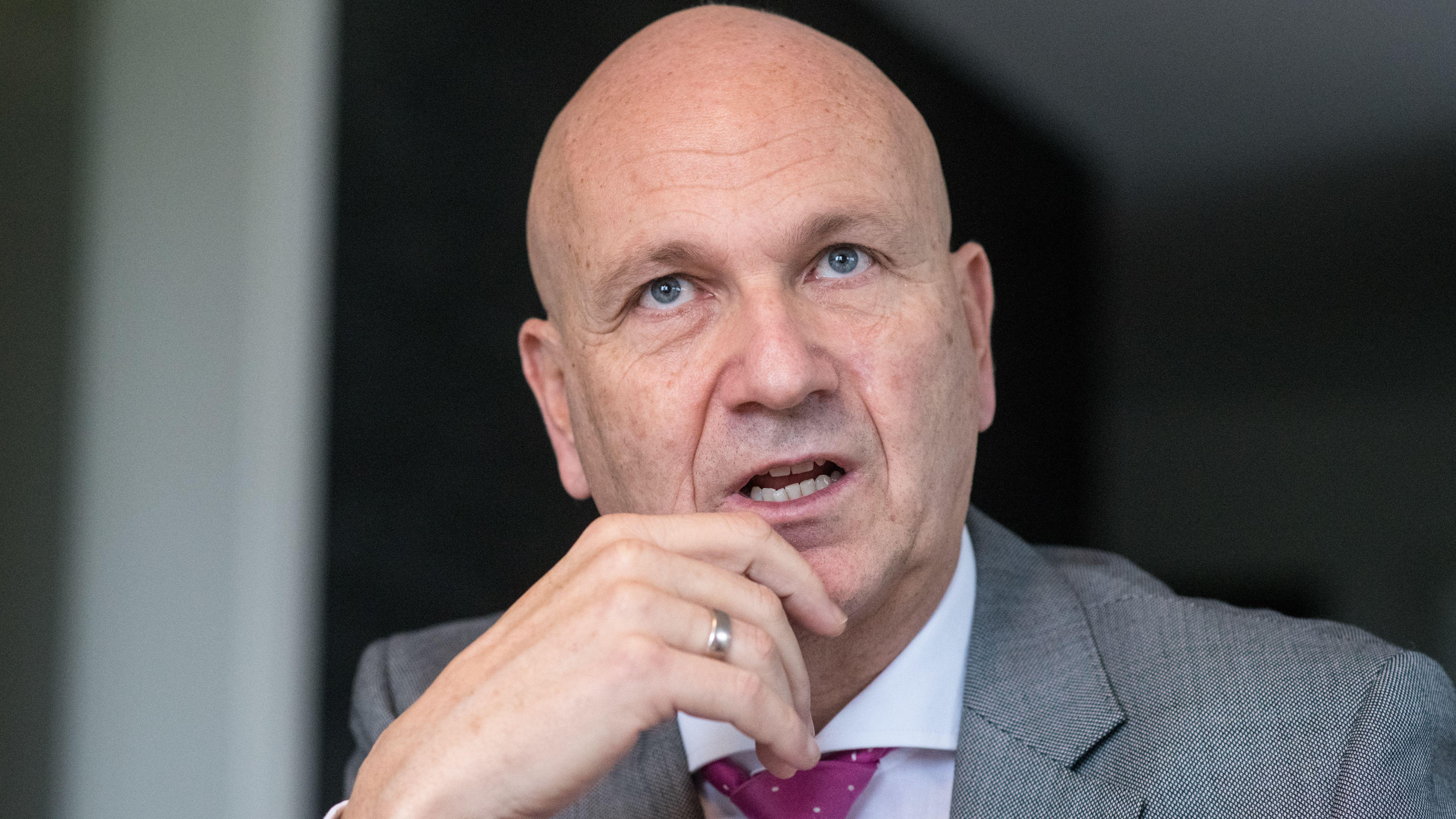 Der Abensberger Bürgermeister und Präsident des Deutschen Städte- und Gemeindebundes, Uwe Brandl
