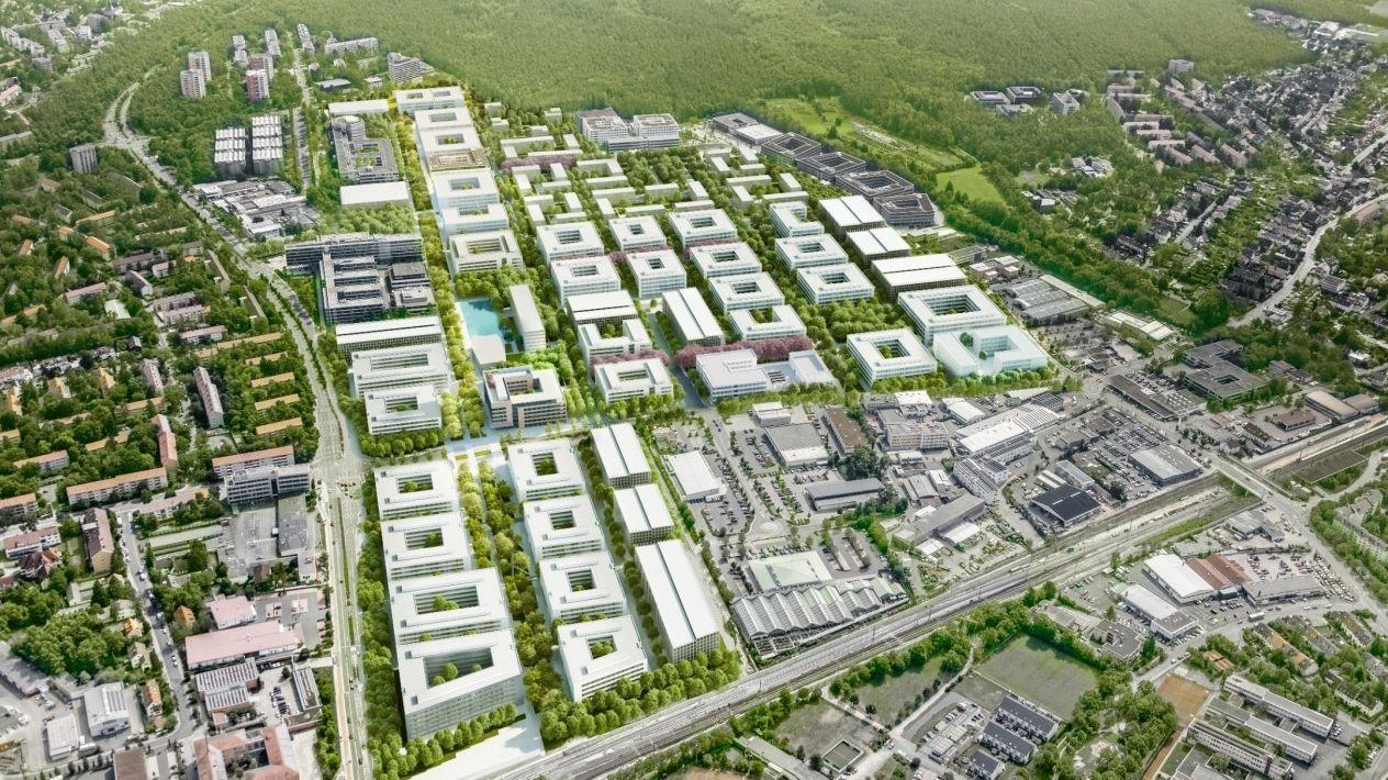 So soll der neue Siemens Campus Erlangen aussehen