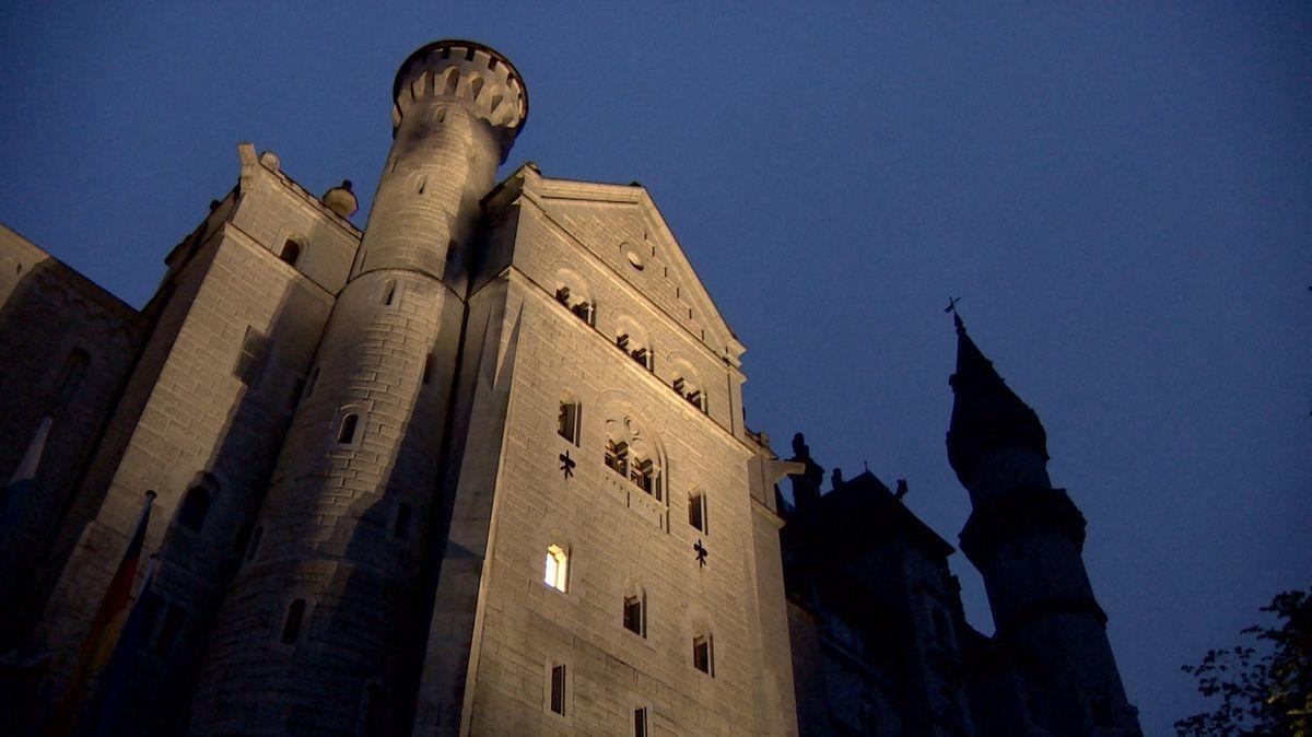Außenbeleuchtung Schloss Neuschwanstein