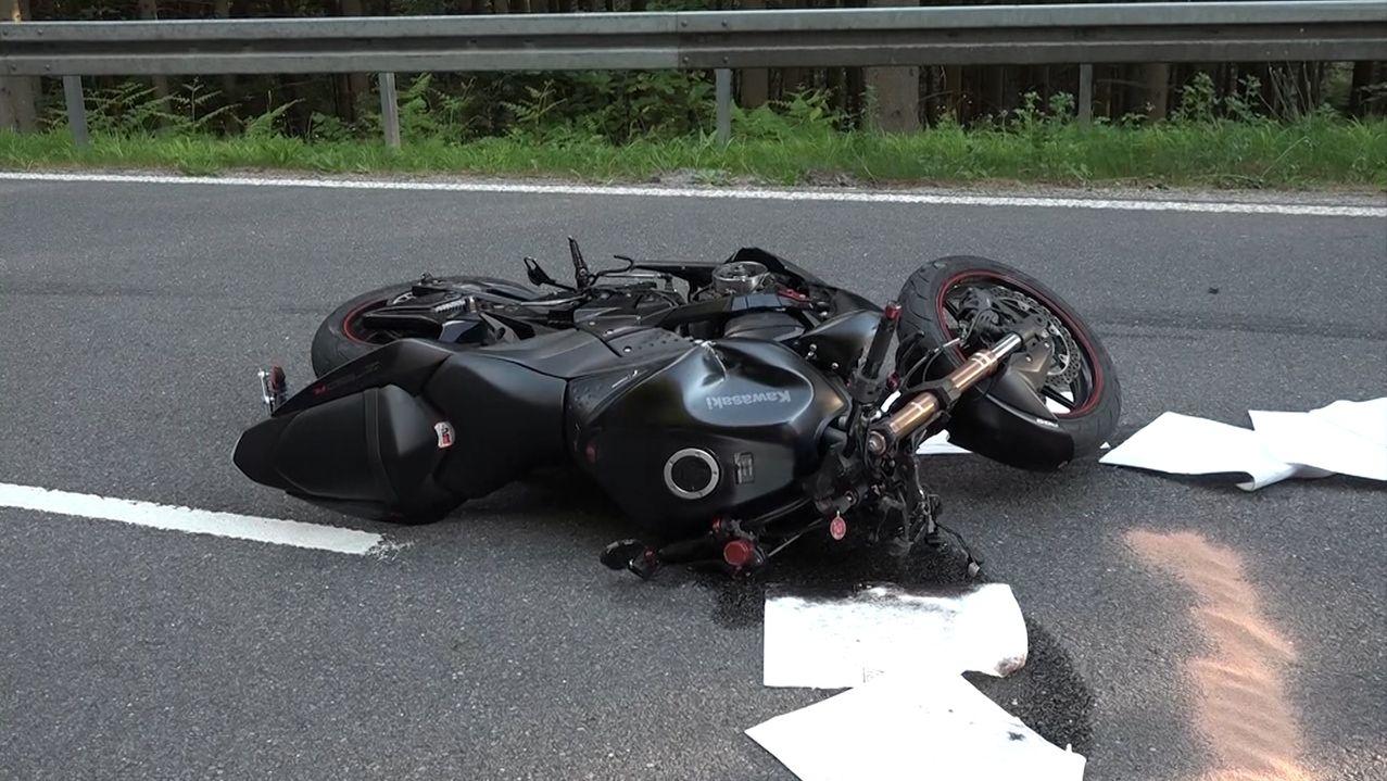 Motorradunfall bei Kirchzell