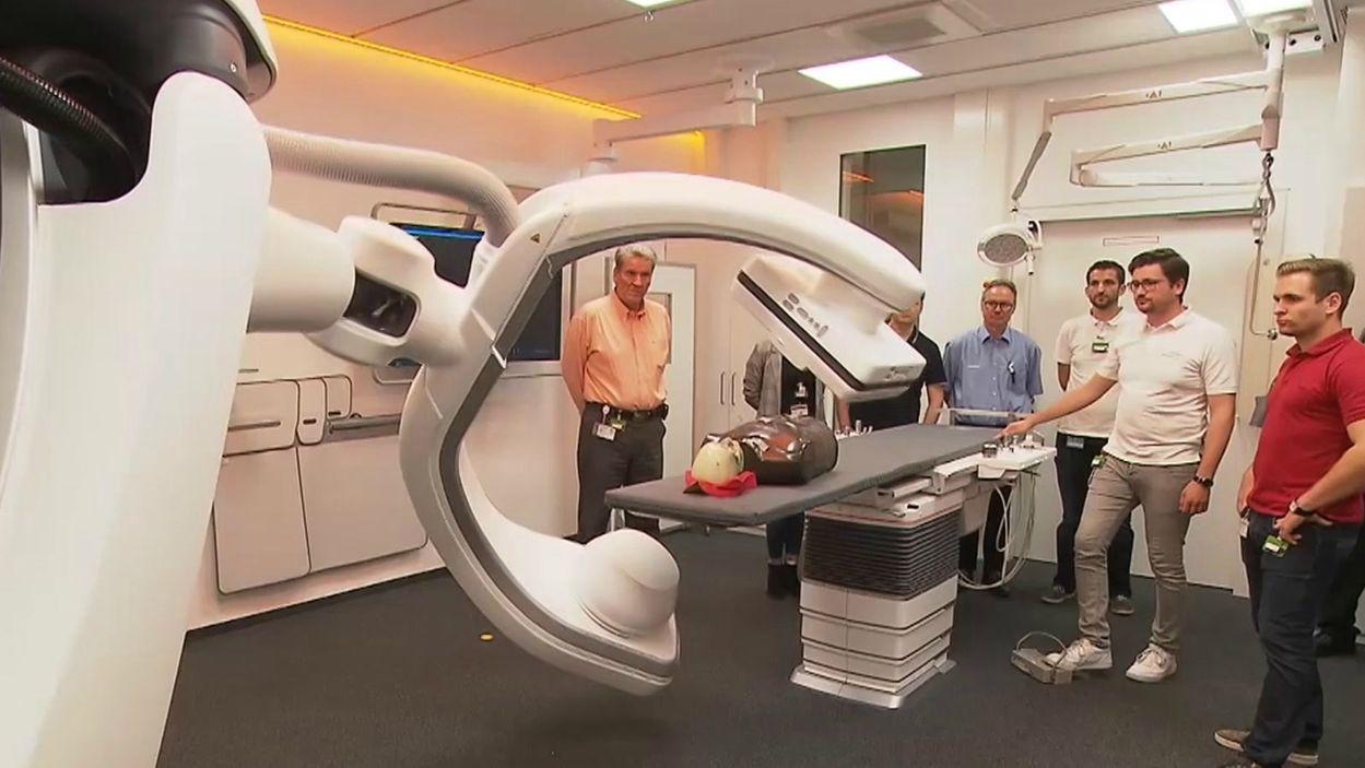 Eine der Machinen der Siemens Healthineers