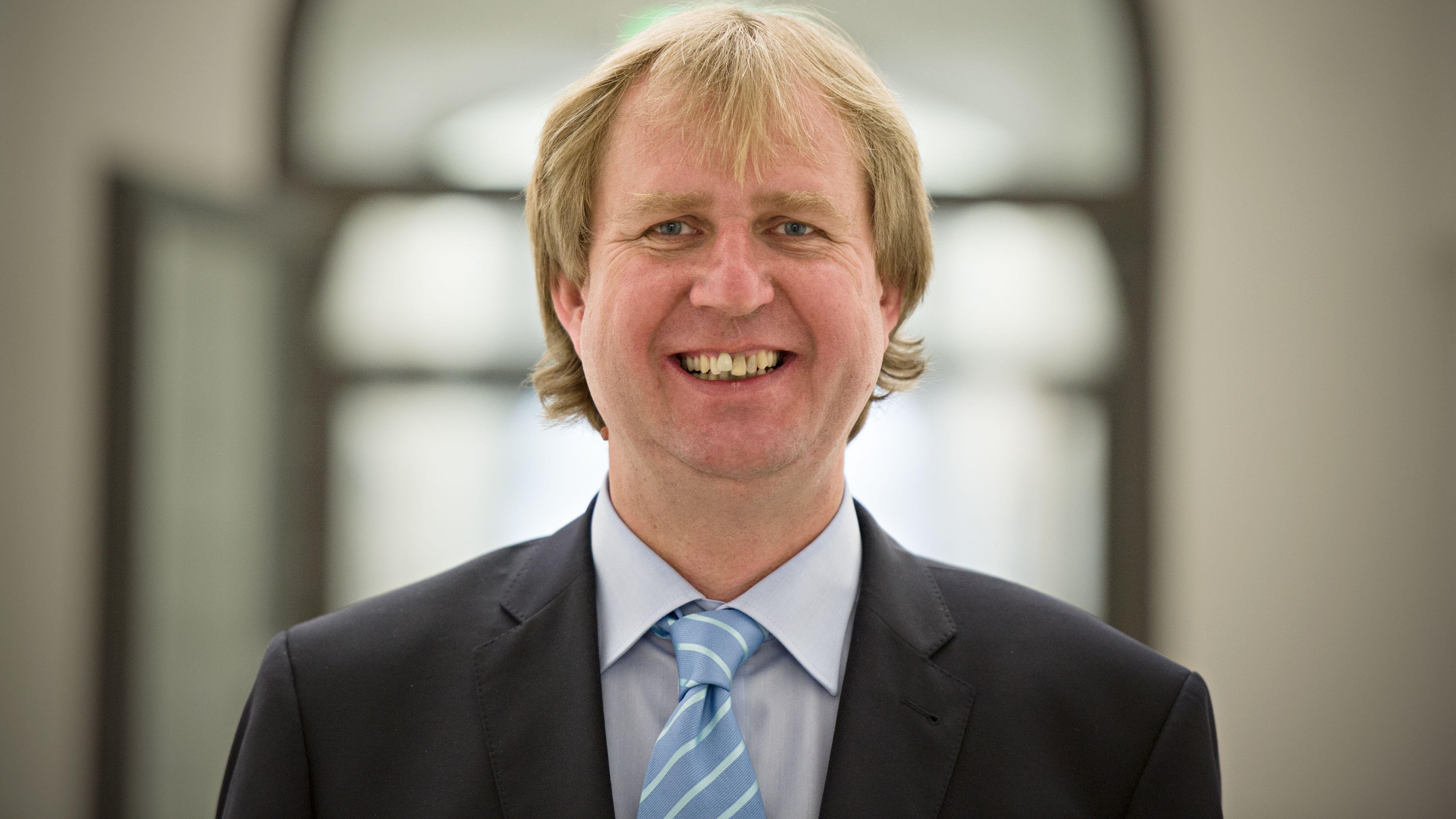 Der Miesbacher Landrat Wolfgang Rzehak (Bündnis 90/Die Grünen)