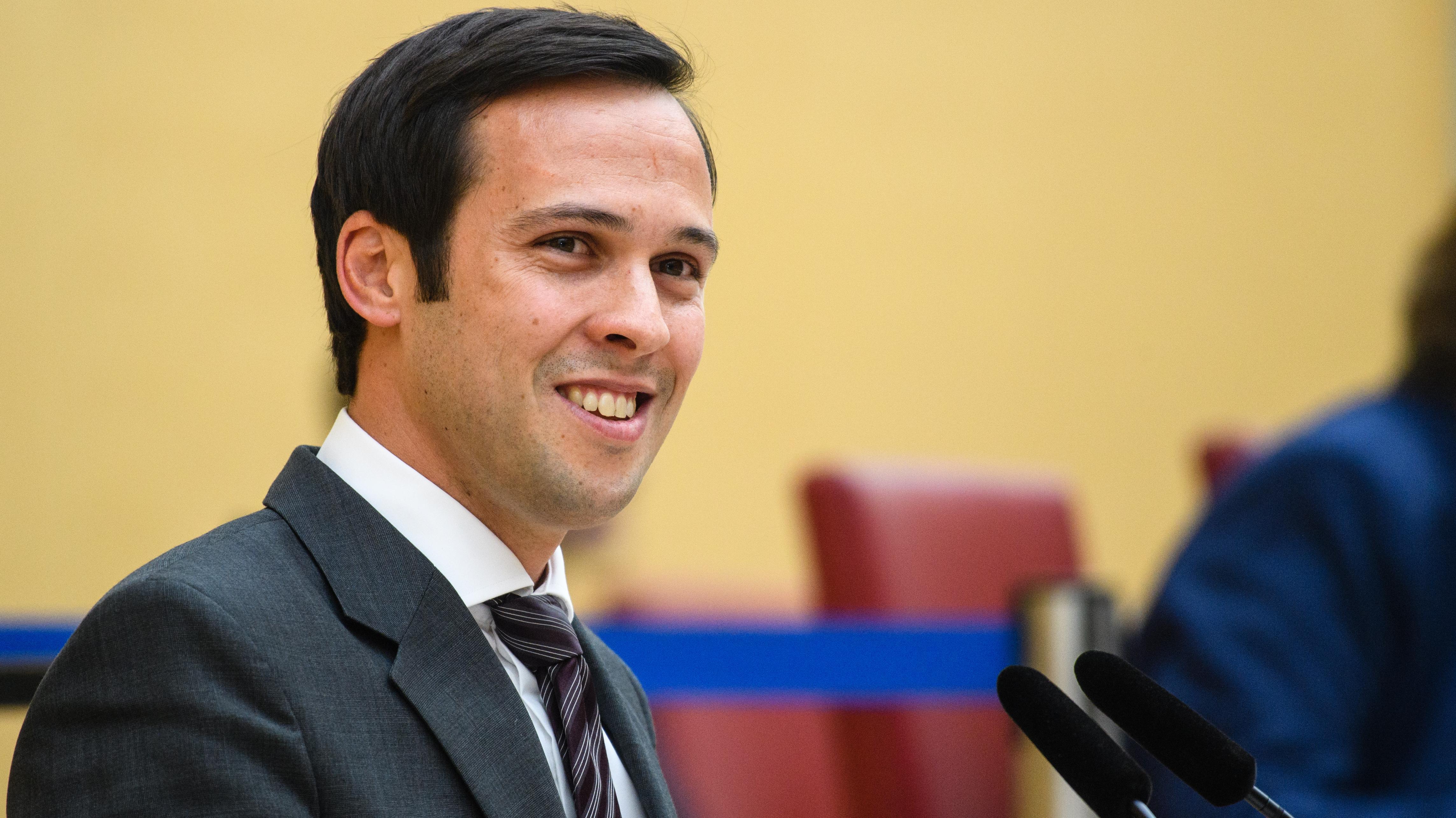 Martin Hagen (FDP), Vorsitzender der FDP-Landtagsfraktion