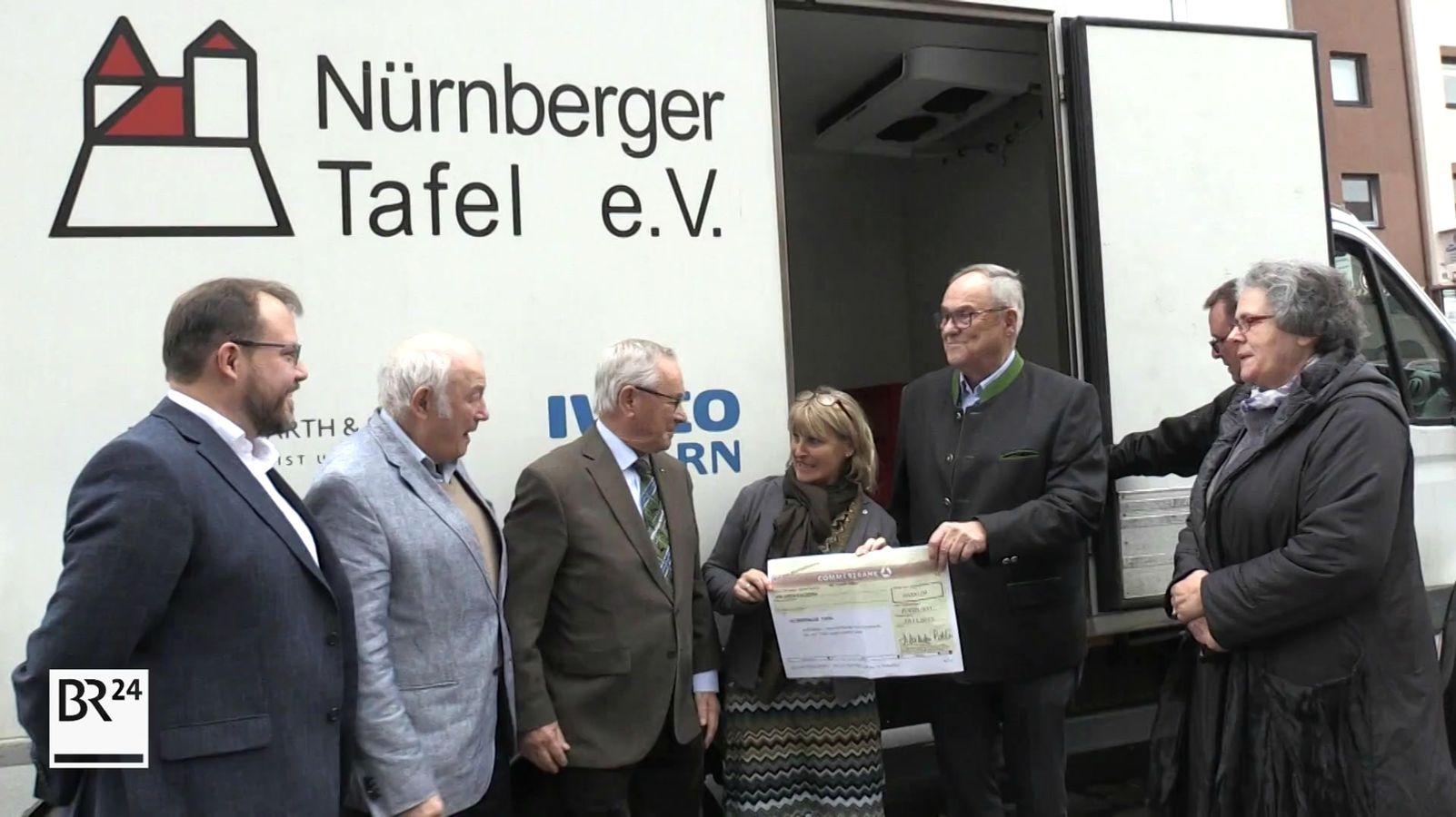 Die Nürnberger Tafel erhält Spende von über 20.000 Euro