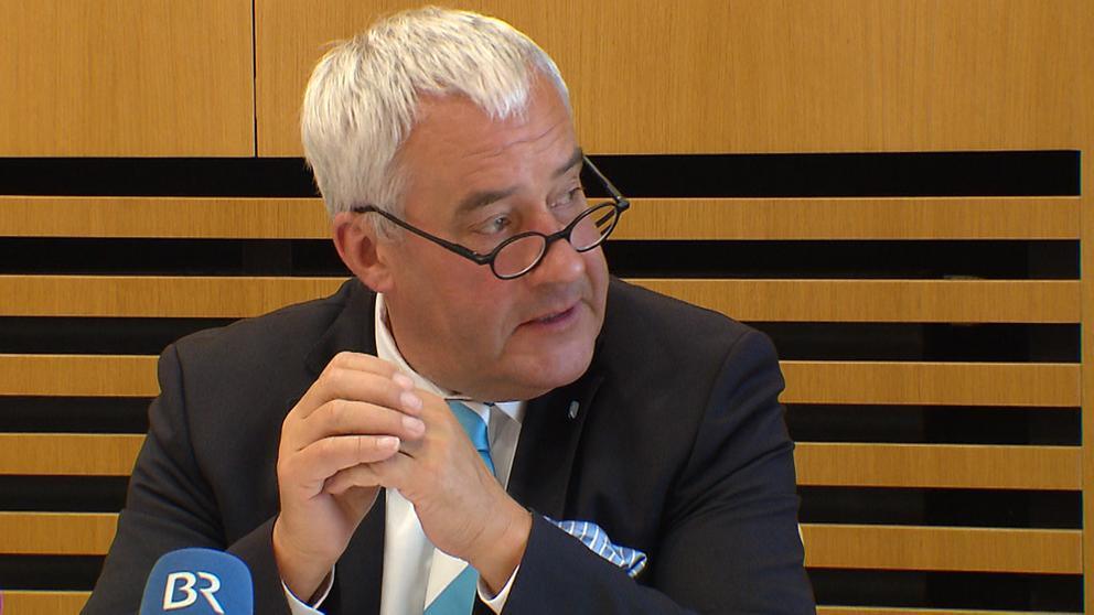 Der Antisemitismusbeauftragte der Staatsregierung, Ludwig Spaenle | Bild:BR