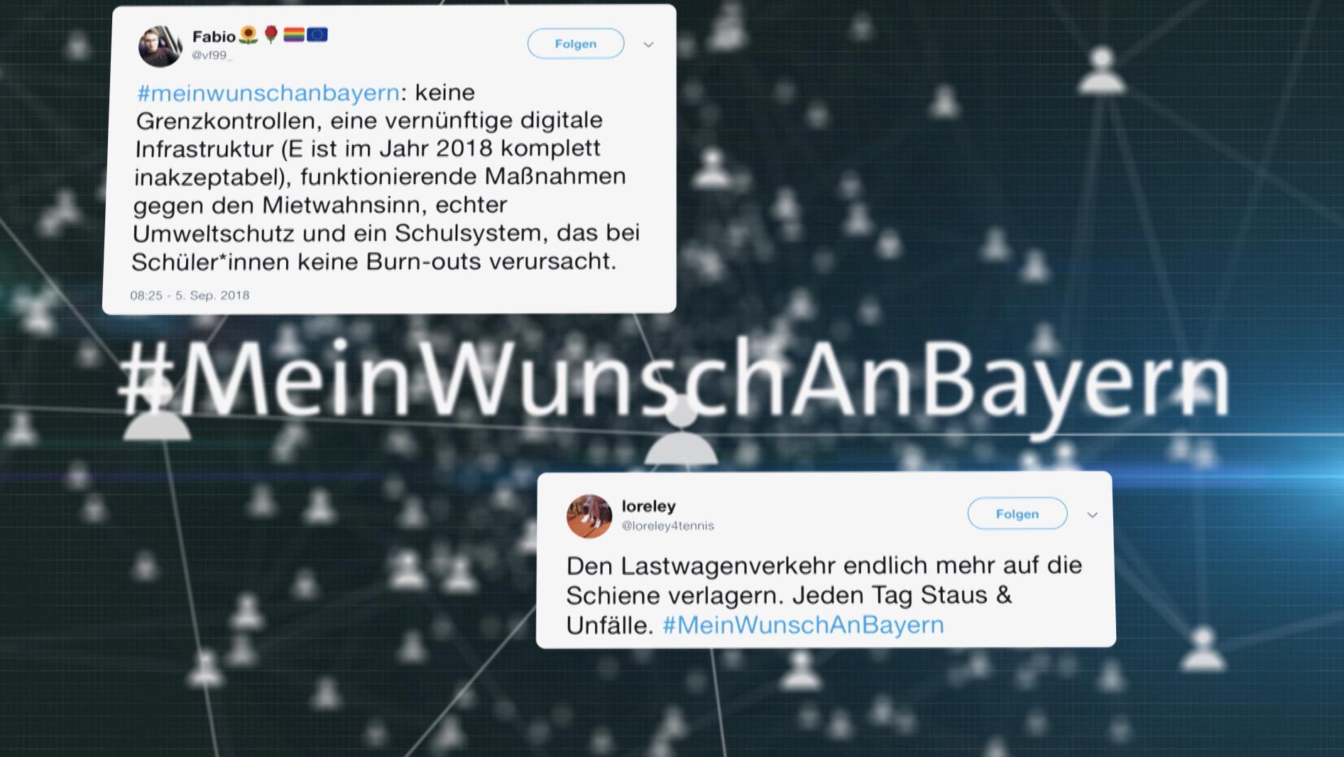 Tweets zu #MeinWunschAnBayern