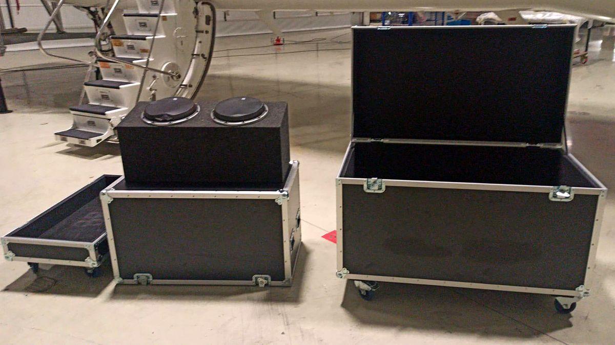 Flight Cases für Musikequipment als Fluchthilfe