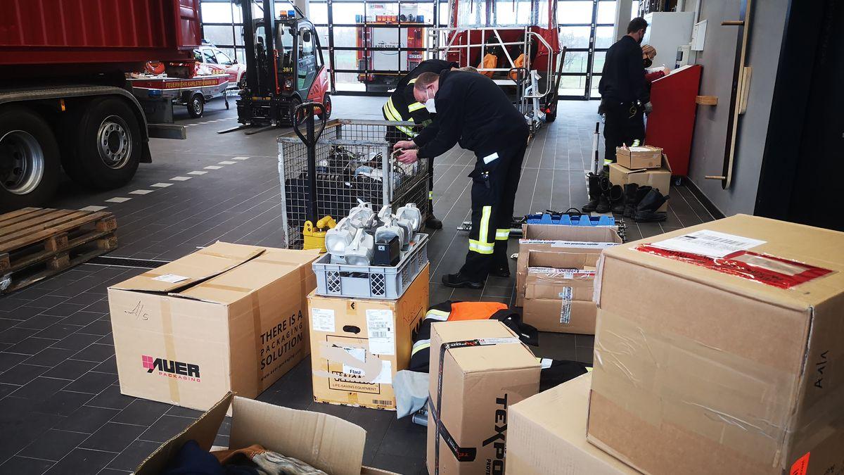 Sammelaktion der Feuerwehren am Untermain