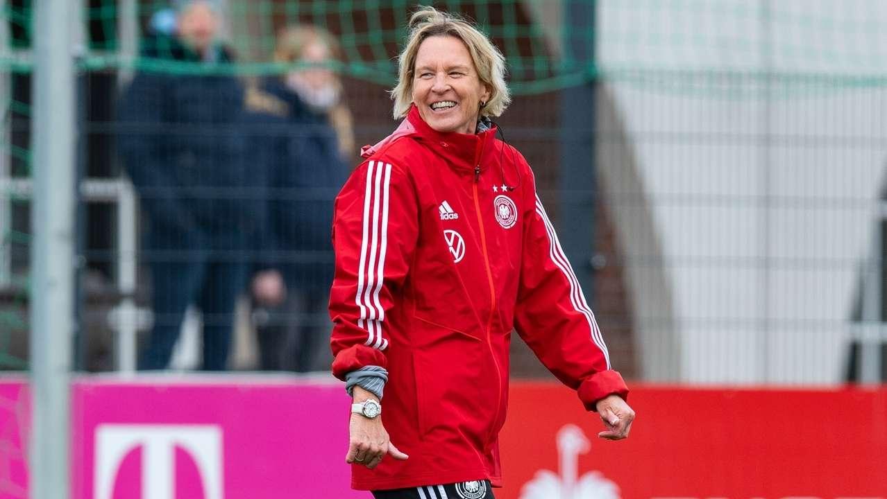 Martina Voss-Tecklenburg, Cheftrainerin der DFB Frauen Nationalmannschaft