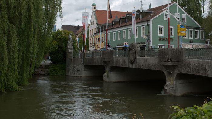 Amper in Fürstenfelbruck, fälschlierweise bei Google als Langenbach ...