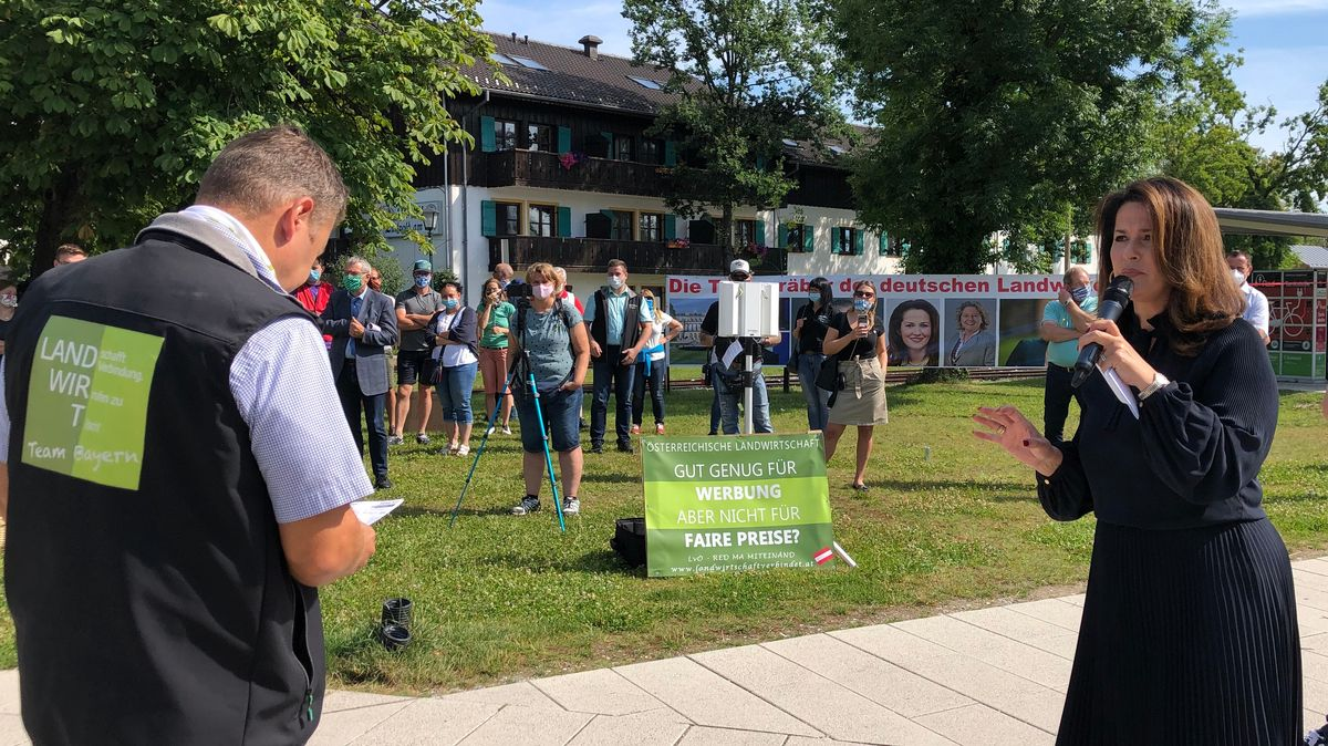 Proteste in Herrenchiemsee
